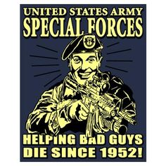 US Army Special Forces, Green Beret (1)