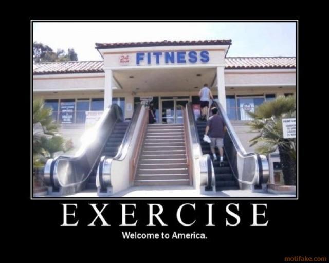 Escalator to Fitness Centre