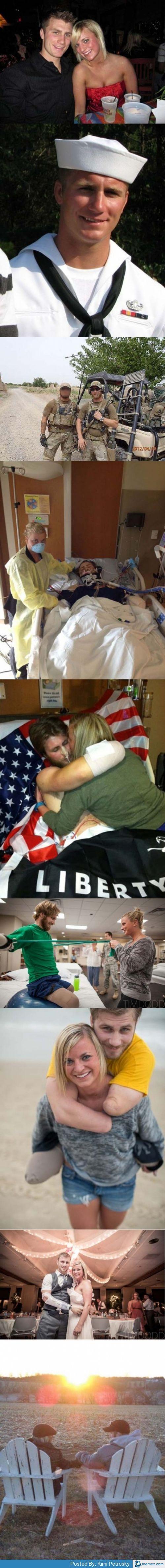 Make You Think, Staying Together, Injury, Veteran, War