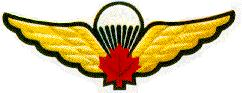 Canadian Basic Parachutist Badge