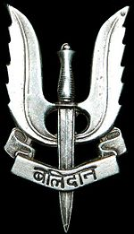 Indian Army Para (SF) Badge Balidaan