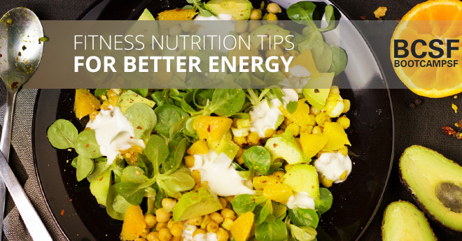 Fitness Nutrition Tips For Better Energy blog post