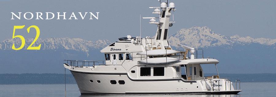 Nordhavn 52 - ein schönes Boot für die Langfahrt.