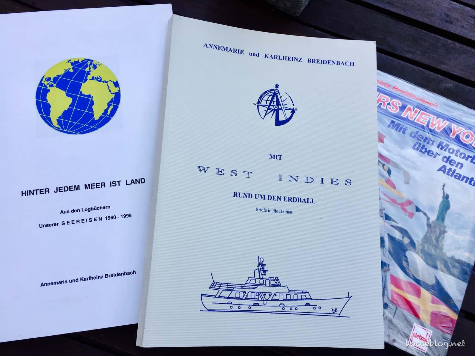 Alle Reisen der Breidenbachs: Drei dicke Bücher. Ein Lebenswerk.