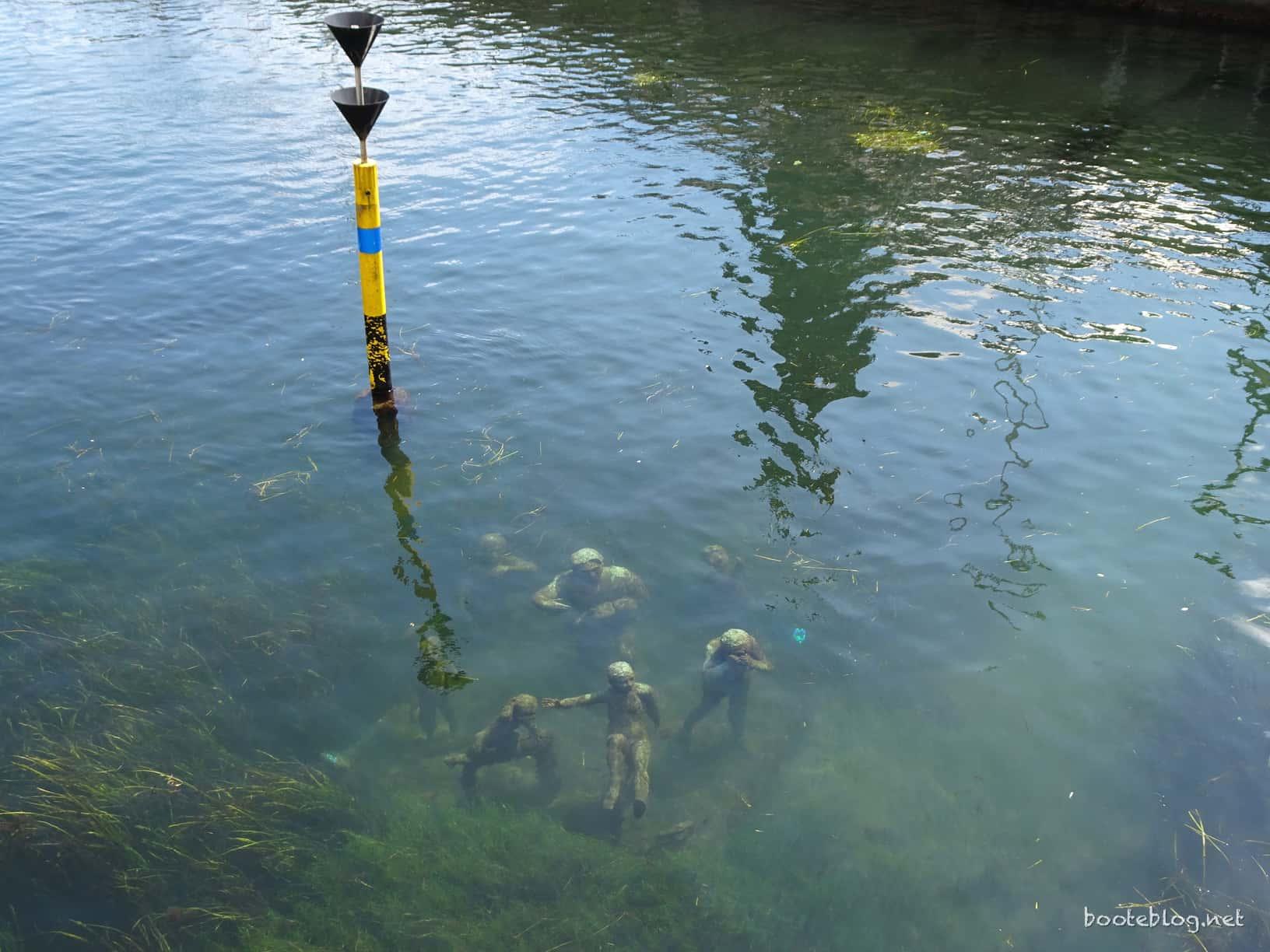 Kopenhagen ist eine Stadt der Kunst. Auch unter Wasser.