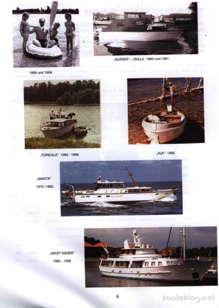 Die Bootskarriere der Breidenbachs.