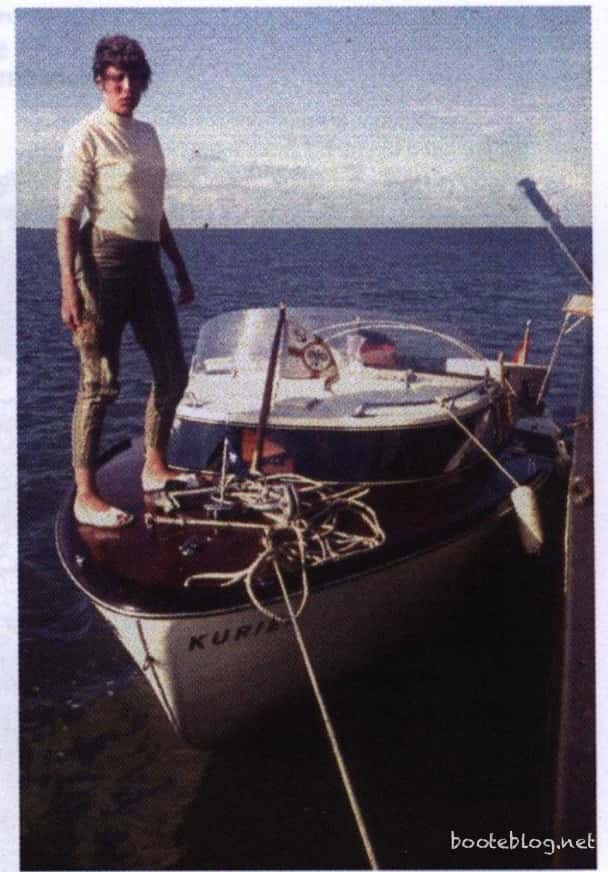Das erste echte Boot der Breidenbachs.