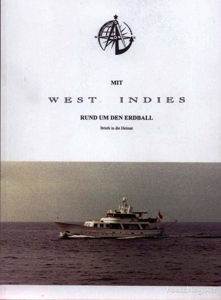 """Das Buch """"Rund um den Erdball"""" der Breidenbachs."""