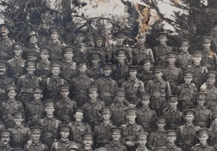 AIF 31st Battalion WW1 - Percy Cecil Booth ( Circled )