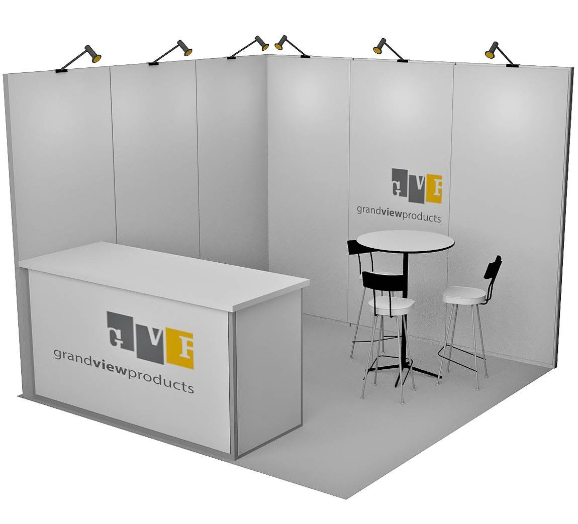 Grand View Products 10x10 Trade Show Booth Booth