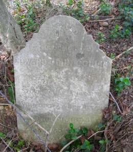 Edward Collis' Grave