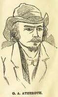 Atzerodt Drawing based on Mugshot