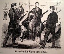 Atzerodt on his way to the Scaffold National Police Gazette