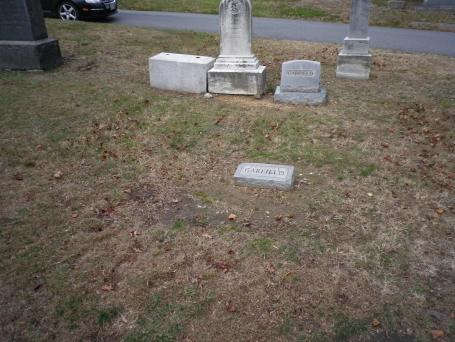 Possible location of Atzerodt's grave