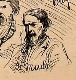 Dr. Mudd Trial Sketch Harpers 6-03-1865