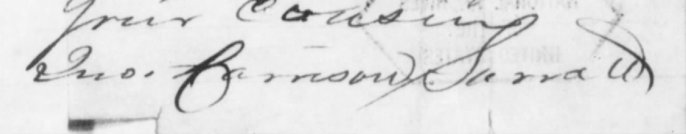 John Harrison Surratt Signature