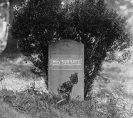 Mary Surratt's Former Grave 1
