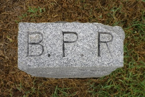 Bettie Rollins' footstone