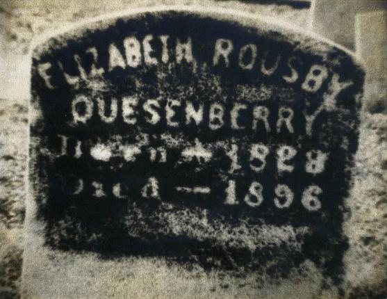 Mrs. Quesenberry's grave 2