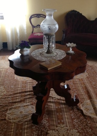 Mary's center table