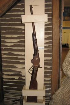 Surratt carbine on wall
