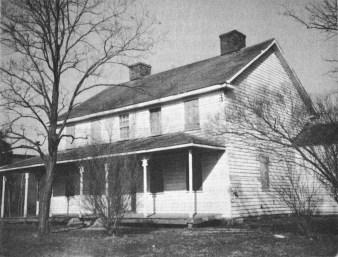 Surratt House circa 1972 Pre-Restoration