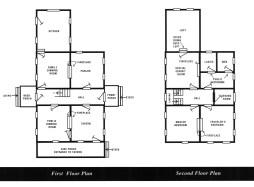 Surratt House Museum plan