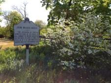 Surratt house sign