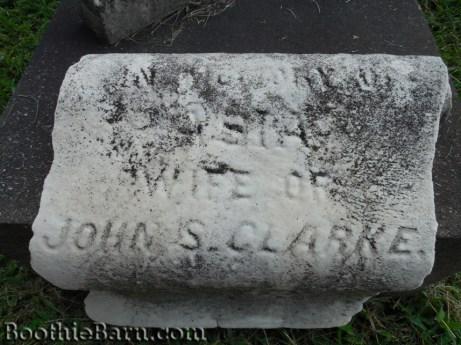 Asia Clarke Grave 1