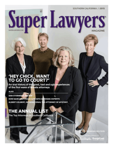 Super Lawyers Cover 2015