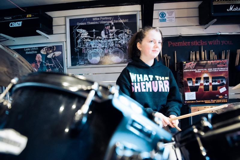 Drum Lessons - Emily
