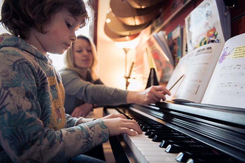 Piano Lessons Bolton - Teddy