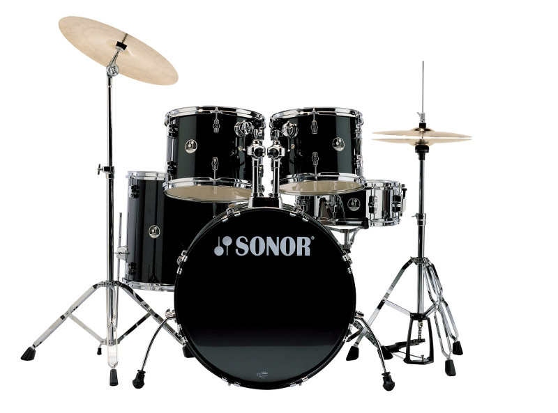 set up a drum kit