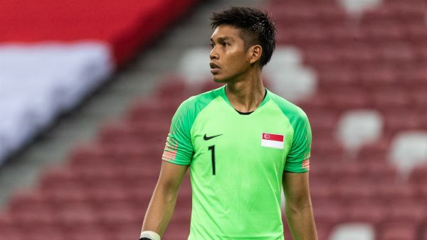 izwan mahbud - Singapore national team goalkeeper