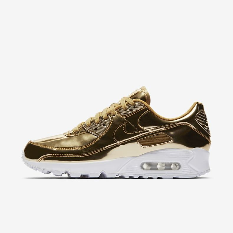 nike air max 90 gold - father's day