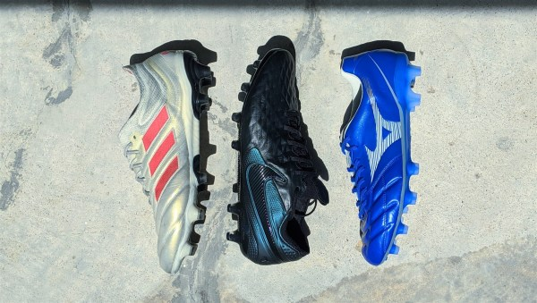 Leather football boots battle - adidas copa nike tiempo mizuno rebula cup