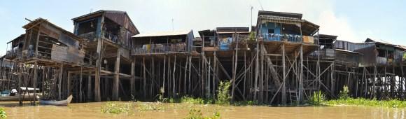 kampong-chhnang floating village