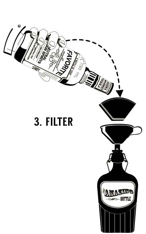 Filter your Alcohol Infusion
