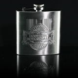 embossed metal hip flask thegem product thumbnail