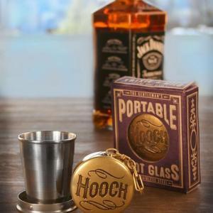 """Gentleman's Portable Shotglass """"Hooch"""""""