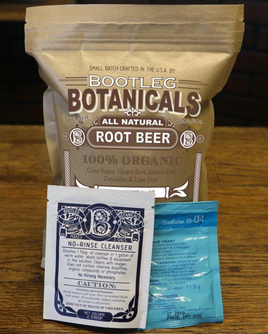homebrewed root beer ingredients