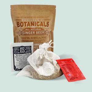 Bootleg Botanicals Ginger Beer Home Brewing Refill Kit