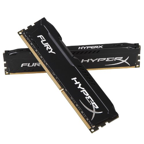 Kingston HyperX FURY 16GB Kit (2x8GB) 1600MHz DDR3 CL10 DIMM - Black
