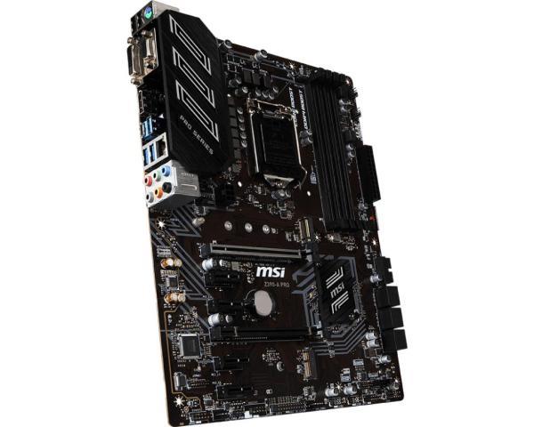 MSI - Z390-A PRO ATX LGA1151 Motherboard ports