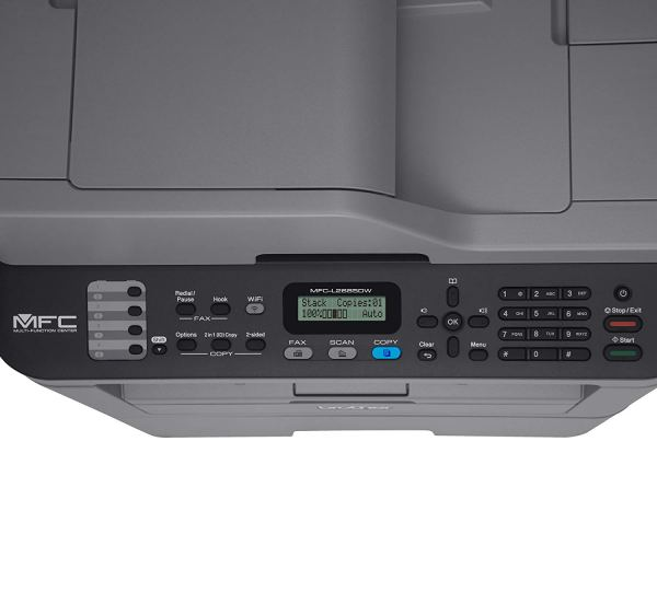 brother mfc-l2685dw laser printer top