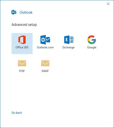 server settings for office 365