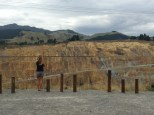 """Lindsay looking at the """"pristine New Zealand environment"""""""