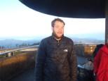 Ryan 'Rogan' at Clingman's Dome