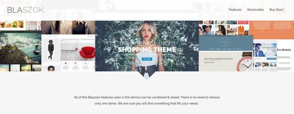 blaszok: meilleurs thèmes pour site d'ecommerce