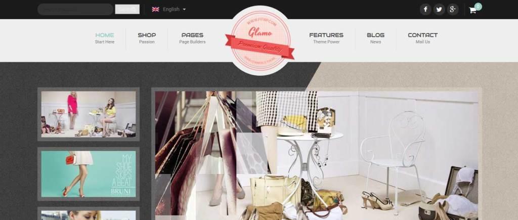 glamo: meilleurs thèmes pour site d'ecommerce